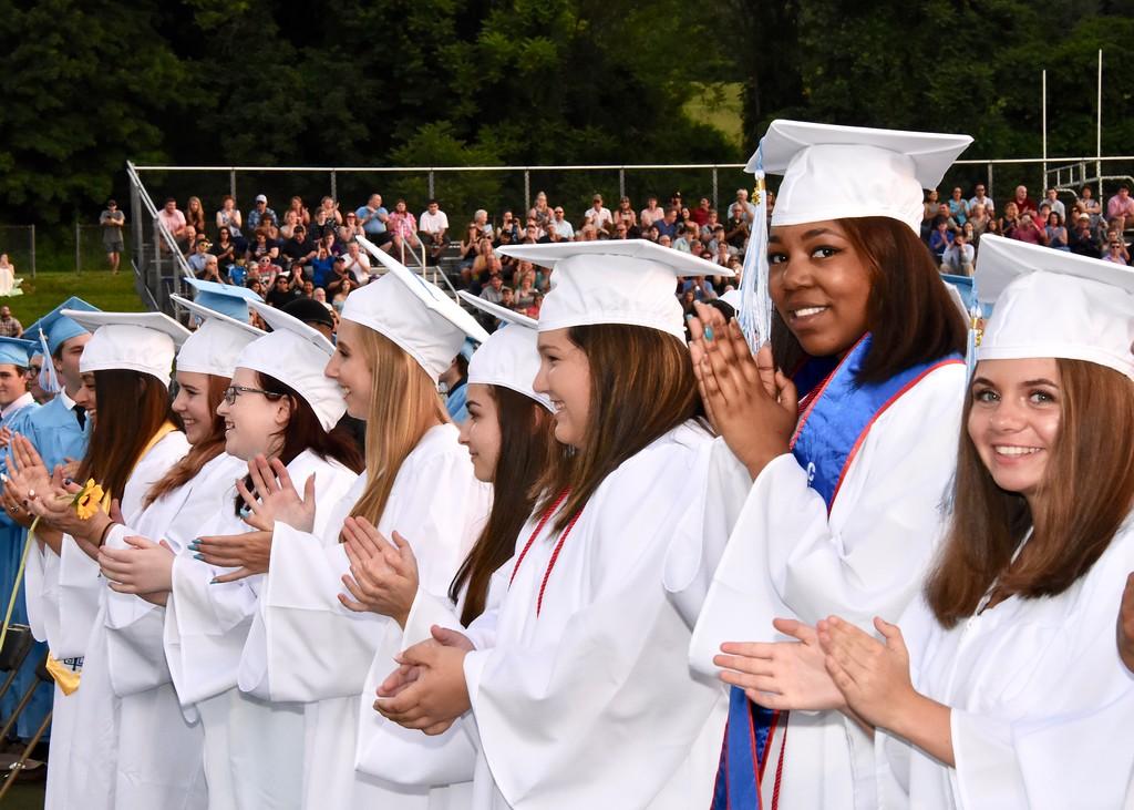 . Jesi Yost � For Digital First Media Daniel Boone High School graduated 277 seniors on Friday evening.