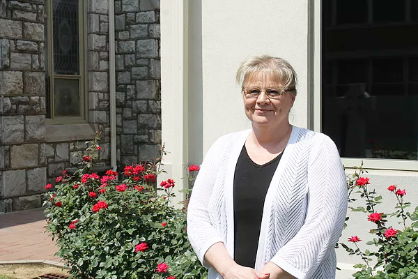 . Kathleen Bruce is the new principal at St. Aloysius Parish School\'s new home in the former St. Pius X High School in Lower Pottsgrove.