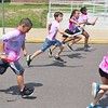 Children competed in running relays during a field day event at Franklin Elementary School in Pottstown Friday, May 27, 2016.