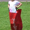 Franklin Elementary 2nd grader Aaron Landis hops in a bag for a field day event  in Pottstown Friday, May 27, 2016.