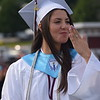 Marian Dennis – Digital First Media<br /> Graduates waved, blew kisses and flashed smiles Friday as they walked onto the field at the commencement exercises for Pottsgrove High School's class of 2018.