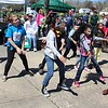 Michilea Patterson, Digital First Media<br /> Children have fun dancing during the combined PEAK Pottstown Celebrates Young Children and YMCA Healthy Kids Day event Saturday at Pottstown High School.