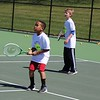 Michilea Patterson, Digital First Media <br /> Children participate in a tennis game as part of a free clinic during a celebration for children in Pottstown.