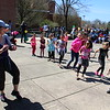 Michilea Patterson, Digital Fist Media<br /> Zumba instructor Pam Kerestus leads children in an active dance during the combined PEAK Pottstown Celebrates Young Children event and the Pottstown YMCA Healthy Kids Day.
