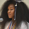 Barry Taglieber — For Digital First Media<br /> Zoe Wallace addresses her fellow graduating seniors Friday evening at Pottstown High School's annual commencement ceremony.