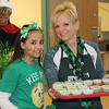Gianna Moffa, 10, smiles for the camera alongside her mom Caryn Moffa at East Vincent Elementary School.