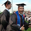 Stephen Cini shares in the excitement of Perkiomen Valley High School's 2016 graduation Friday evening. Debby High - For Digital First Media