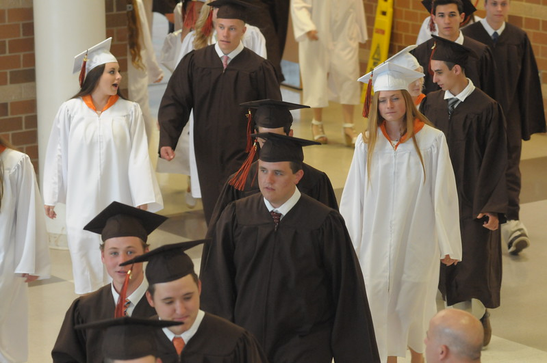 Perkiomen Valley High school commencement ceremonies June 9, 2017. Gene Walsh — Digital First Media