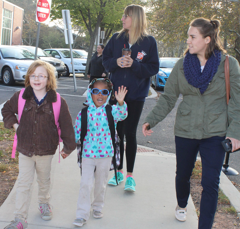 . Everyone knows how glamorous it is to be part of Rupert Elementary School\'s Walking School Bus.