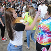 John Strickler - Digital First Media<br /> Dana Woods pies Joanna Hayden during the Pottsgrove High School pep rally as the school gets ready for their mini-thon in May.