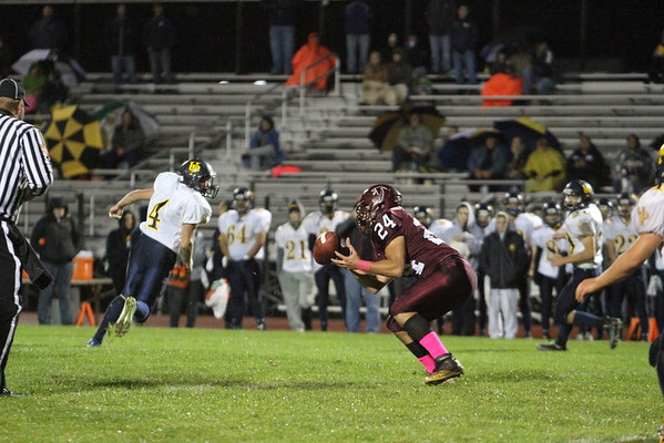 Pottsgrove vs Upper Perk football 10-2-15