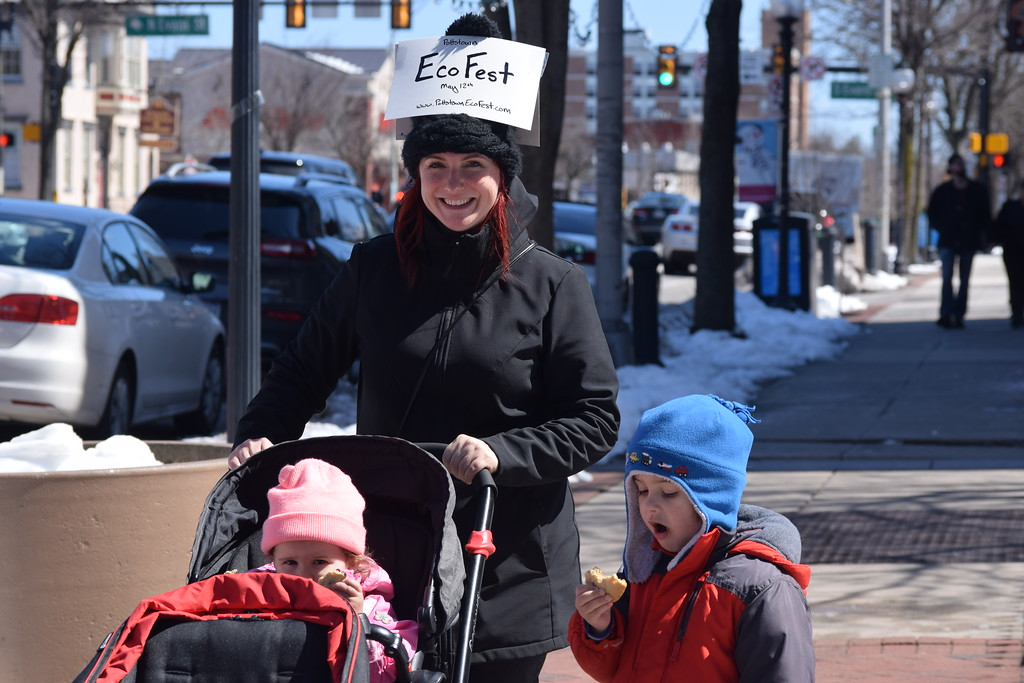 . Marian Dennis � Digital First Media Families had a blast walking through downtown Pottstown Saturday for the egg hunt. Kids enjoyed food, crafts and more as the borough celebrated Spring.