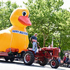 Jesi Yost — For Digital First Media<br /> It's hard to miss the Pottstown Rotary Club's 16-foot-tall duck at the Fourth of July Parade.
