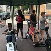 MONICA SAGER — DIGITAL FIRST MEDIA<br /> Pottstown Dragon Warriors hosted a erging competition, pictured competing: Samera Cody and Allyson Rosa.
