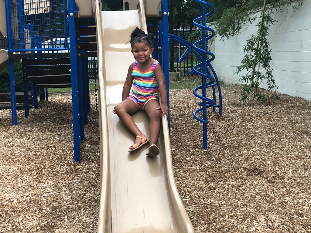 . MONICA SAGER � DIGITAL FIRST MEDIA National Night Out was hosted at the Washington and Chestnut Street Park, with a playground for kids to enjoy.