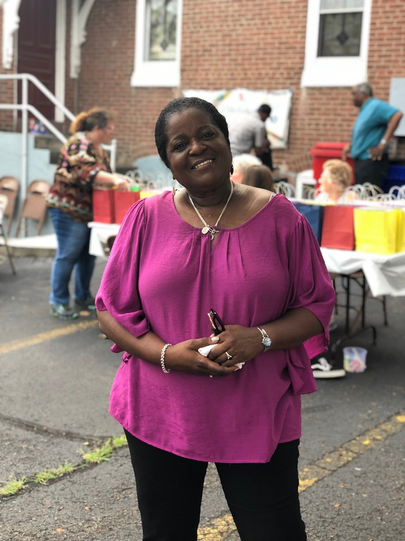 . MONICA SAGER � DIGITAL FIRST MEDIA Salem United Methodist Church hosted a meet and greet with its new pastor, Etta McCall.