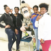 When Trojan Man visits the high school cafeteria, things happen. That's just how it works.