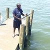 Pottstown alum and school board member Emanuel Wilkerson hopes the fish will be more willing to bite knowing he is Pottstown Proud.
