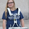 When the Pottstown Middle School Band drummed up some Pottstown Pride at an early morning practice last year, eighth grader Chloe Hebert was ready.