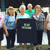 The Pottstown High School class of 1961 showed their We Are Pottstown Pride during their 55th class reunion. They are the first class to graduate from our present High School building