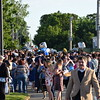 Friends and family members of graduates waited eagerly outside after the 137th commencement at Pottstown High School Thursday. The class of 2017 was met with flowers, balloons and congratulations after receiving their diplomas.<br /> <br /> Marian Dennis – Digital First Media