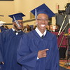 Graduates flash a smile as they leave Pottstown High School for the last time.<br /> <br /> Marian Dennis – Digital First Media