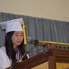 Valedictorian MaSofia Sosa thanks her classmates during her speech at Pottstown High School's commencement for the class of 2017.<br /> <br /> Marian Dennis – Digital First Media