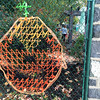Evan Brandt -- Digital First Media<br /> Soon the inside of the Mosaic Community Garden will as ready for Halloween as the outside, thanks to the helpers from PottstownCARES Day.