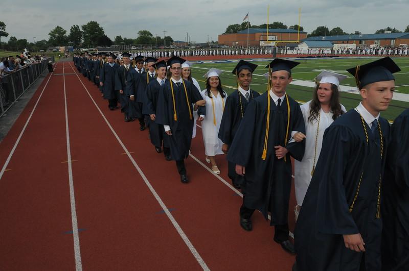 Spring Ford Area High School graduation June 13, 2018. Gene Walsh — Digital First Media