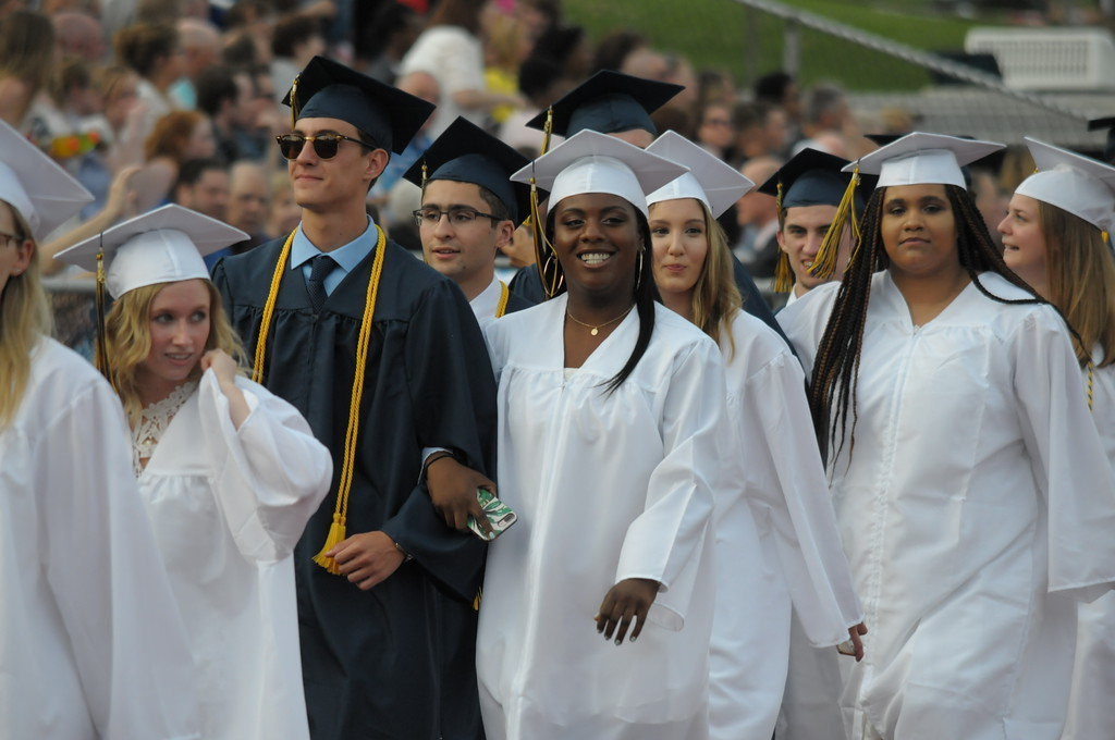 . Spring Ford Area High School graduation June 13, 2018. Gene Walsh � Digital First Media
