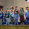 Parents and family members watched excitedly Friday as students at St. Teresa of Calcutta performed songs and rhymes to get into the Thanksgiving spirit. <br /> Marian Dennis -- Digital First Media