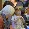 Families enjoyed a Thanksgiving meal with students at St. Teresa of Calcutta School in Limerick on Friday. The children dressed up in Thanksgiving themed attire and performed several songs and rhymes before enjoying the holiday meal.<br /> Marian Dennis -- Digital First Media