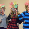 Sporting construction paper turkey hats, students at St. Teresa of Calcutta School in Limerick performed for their families at their annual Thanksgiving celebration.<br /> Marian Dennis-- Digital First Media