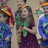 Students were all smiles Friday as St. Teresa of Calcutta celebrated Thanksgiving with a performance by their students and a Thanksgiving feast that followed.<br /> Marian Dennis -- Digital First Media