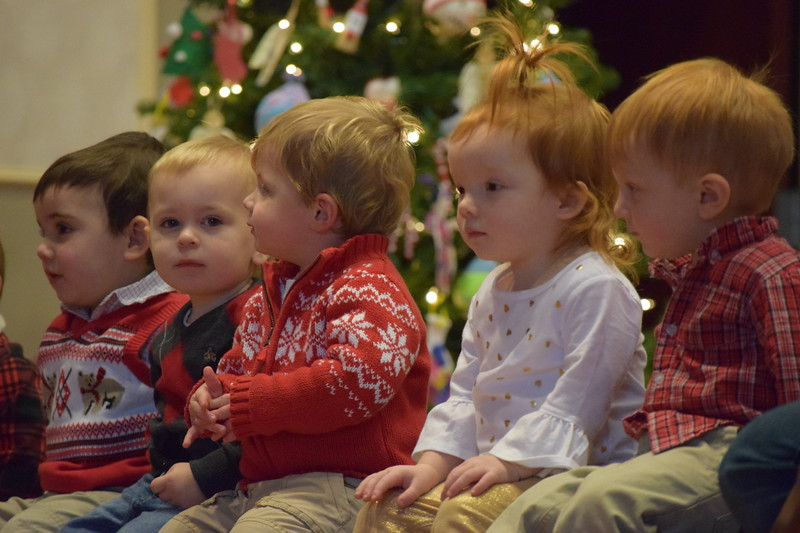 Kids were sporting their holiday best during the St. Teresa of Calcutta Christmas concert.<br /> Marian Dennis -- Digital First Media