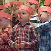 Kids sang and pantomimed a variety of Christmas songs Friday as they kicked off the holiday weekend with a Christmas concert at St. Teresa of Calcutta.<br /> Marian Dennis -- Digital First Media