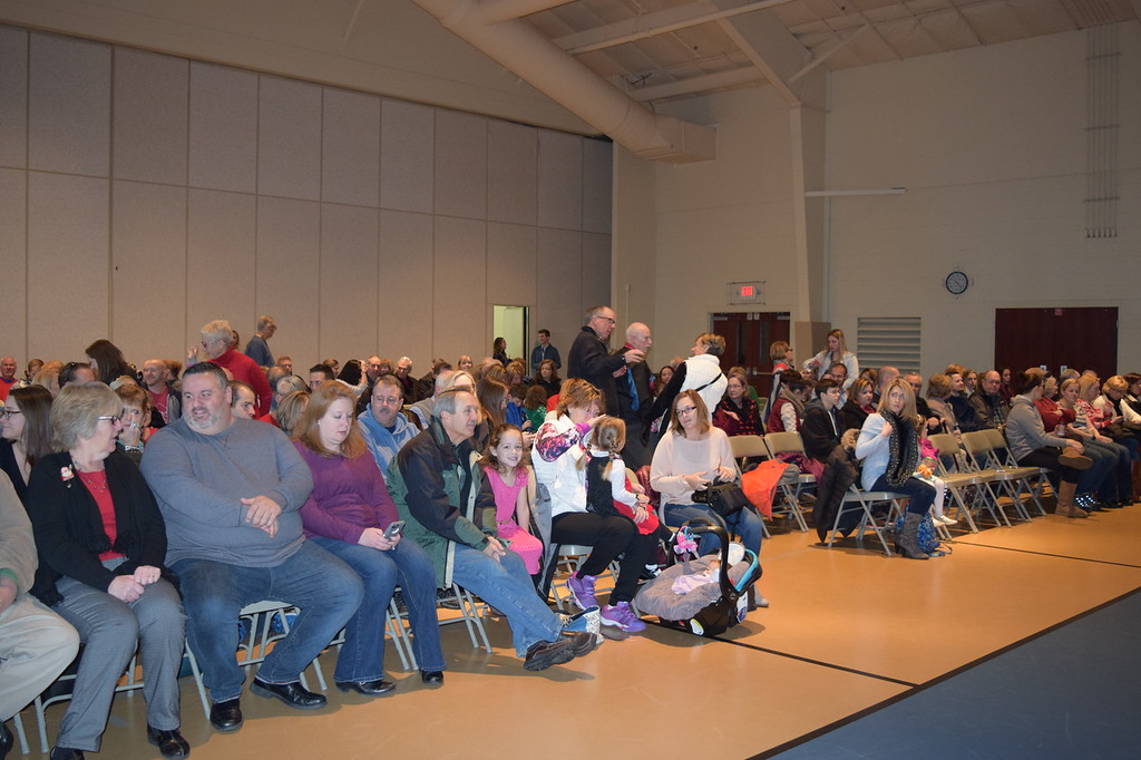 . Parents eagerly awaited performances by their children Friday as students at St. Teresa of Calcutta School performed their Christmas concert. Marian Dennis -- Digital First Media
