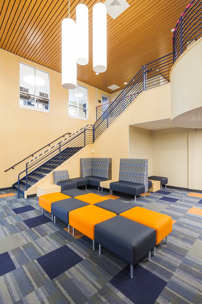 Hudson Hall residence at Mercy Collrge's Dobbs Ferry Campus.