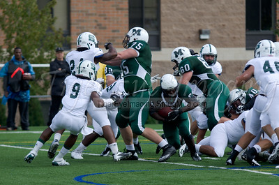 2012-09-22 Mercyhurst FB vs Slippery Rock