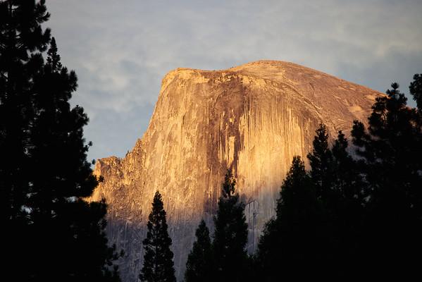Half Dome sunset, Yosemite