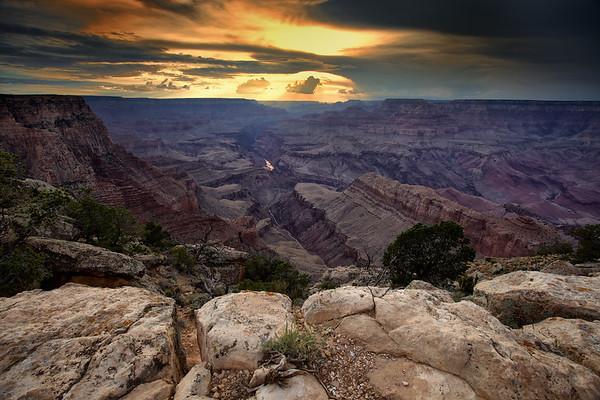Sunset at Lipan Point, South Rim, Grand Canyon