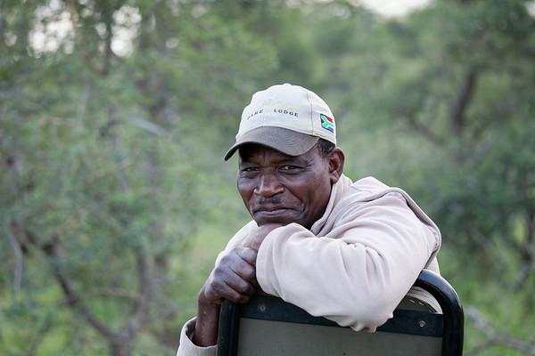 Nyeti, our tracker, Klaserie Private Reserve, Greater Kruger National Park
