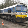 59002 'Alan J Day' sits on Merehead Quarry shed