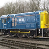 Recently given a makeover, 08933 sits at Merehead Quarry