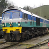 59005 'Kenneth J Painter' sits on Whatley Quarry shed