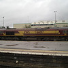 66017 stabled at Westbury station