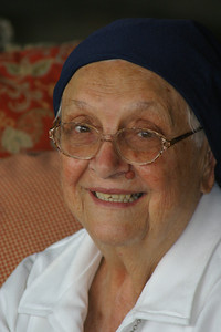 Sister Carmelita el 24 de abril de 2005