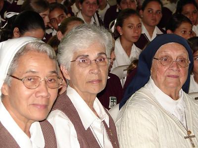 Sister Carmelita en los 50 años de Sister Mary Bernard