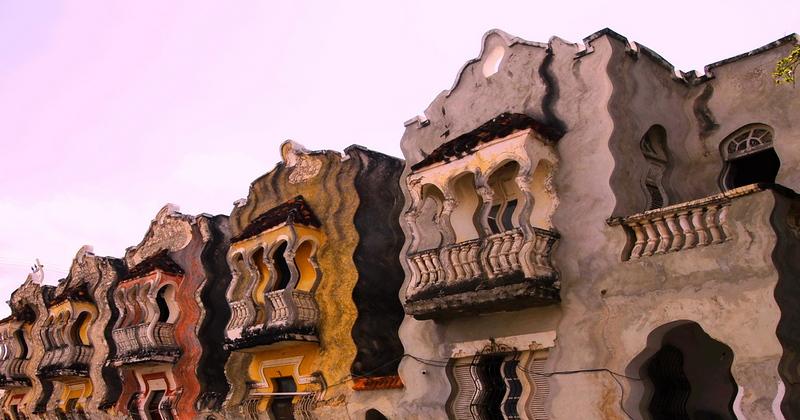 Gaudi Inspired apartments