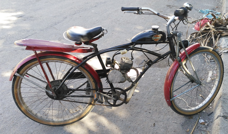 Yucatan version of a Harley